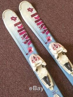 100 Cm Volkl Chica Junior Girl Skis with Marker 4.5 vMotion JR Bindings