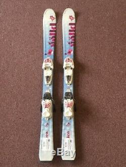 110 Cm Volkl Chica Junior Girl Skis with Marker 4.5 vMotion JR Bindings
