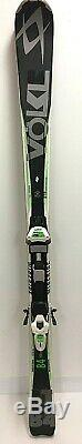 $1140 Volkl RTM 84 Alpine Skis Marker Wideride iPT12.0 Binding 166cm All MTN