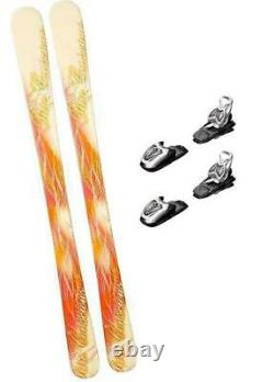 140CM LCV PURE SKIS WITH MARKER 4.5 BINDINGS PACKAGE WOMENS GIRLS YOUTH k2-145