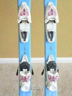 140cm Volkl Chica All Mountain Jr Girl Skis with MARKER 7.0 Quick Adjust Bindings