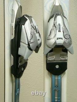 142cm K2 TNine SWEET LUV Women's Skis with MARKER Adjustable Bindings