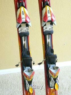 146cm K2 TNine BURNIN LUV Women's Skis with MARKER MOD11.0 Adjustable Bindings
