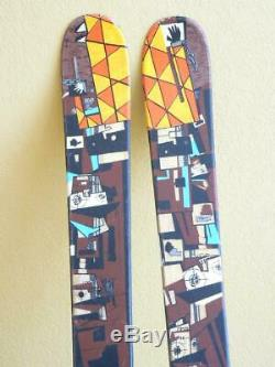148cm K2 FUJATIVE Twin Tip Park / Pipe Skis with MARKER M 700 Bindings