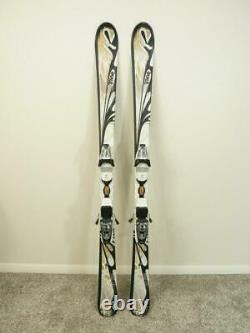 149cm K2 TNINE FIRST LUV Women's Skis with MARKER Adjustable Bindings