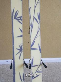 149cm ROSSIGNOL Scratch Full Twin Tip Women's Skis with MARKER ATTIVA Bindings