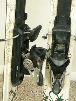 153 cm K2 TNINE Twin Tip Powder Skis with MARKER MOD 11.0 Adjustable Bindings