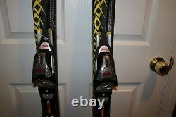 154 CM VOLKL Supersport Aluminum Women's Pair Skis With Marker Bindings