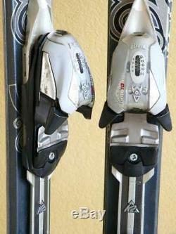 160cm K2 TNine Mistic Luv Women's Skis with MARKER MOD10.0 Adjustable Bindings