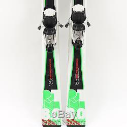 165 Volkl RTM 8.0 Skis 14/15 Marker Fastrak 10 Bindings