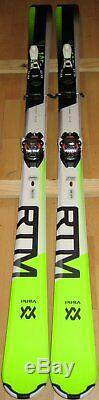 165 cm Volkl RTM 80 all terrain men's tip rocker skis + Marker TP11 bindings