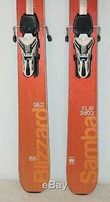 166cm Blizzard Samba 2016 + Marker 12 Bindings