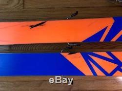 167cm Salomon QST 106 Marker Kingpin bindings