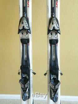 170cm VOLKL AC40 CARBON UNLIMITED All-Mountain Skis w MARKER iPT MOTION Bindings