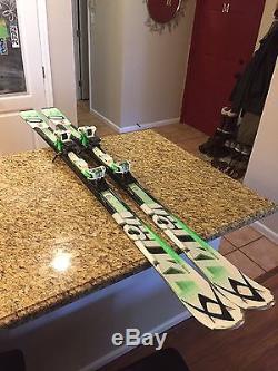 171cm Volkl RTM80 Skis + Marker Wildride Bindings