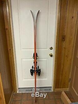 173 Dynafit Beast 108 Touring Skis + Pomoca Skins +Marker Kingpin 10 AT Bindings