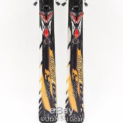 178 Nordica Speedmachine Mach 3 Skis Marker N0312 Ti Xbi Bindings All-Mountain