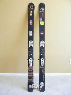 178cm VOLKL GOTAMA Big Mountain Powder Twin Tip Skis with MARKER Griffon Bindings