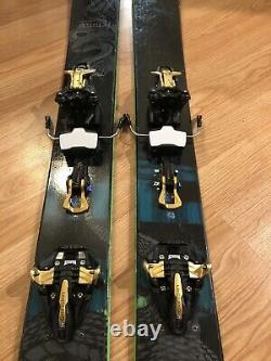 179 cm. Freeride K2 Pettitor Skis 2017 + Marker Kingpin 10 Ski Bindings 2017