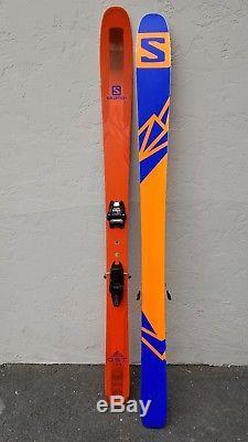 17/18 Salomon QST 106 (189cm) With Marker Jester Sole ID Bindings