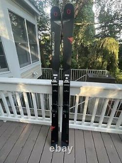 180 Blizzard Brahma with Marker Squire bindings 2019 (88mm) Skis Black