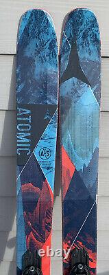 182cm Atomic Automatic 109 with Marker Griffon bindings MINT withFRESH TUNE