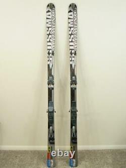 185cm SALOMON CROSSMAX 09 Skis with MARKER M8.1 Graphite Bindings