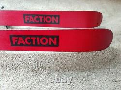 19-20 Faction Candide 3.0 Skis withMarker Kingpin Bindings and Skins