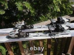 1 Pair Of 170 CM Head Mpulse 3.70 Downhill Skis & Marker M 1000 Bindings