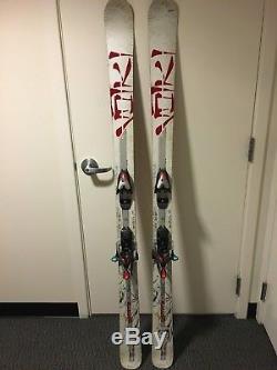 2008 Volkl Mantra Skis 184 cm Marker M 14.0 bindings Free Ride Skiing Voelkl