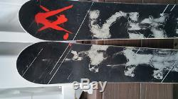 2009 Volkl MANTRA All-Mtn Powder SKIS 170 cm with Marker Griffon Bindings
