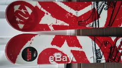 2010 K2 Pontoon 179cm Powder Skis with Marker Duke Bindings