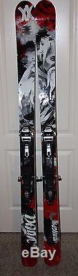 2011 Volkl Mantra 177cm Skis with Marker Baron AT Bindings