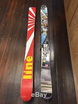 2012 Line Sir Francis Bacon Skis And Marker Griffon Bindings