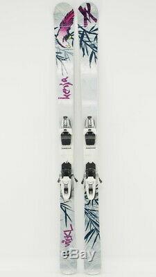 2012 Volkl Kenja Women's Skis 163 cm All Mountain Skis with Marker 10 Din Bindings