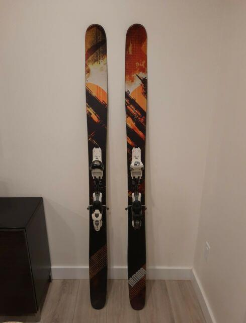 2013 Armada Jj 185cm With Marker Schizo Adjst. Bindings Pwdr / All Mountain Skis