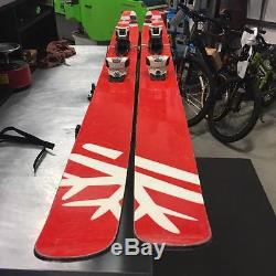 2013 DPS Lotus 138 Pure 2 192cm Skis with Marker Griffon 13 Bindings