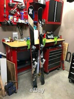 2013 Volkl Gotama 186 Marker Griffon Binding, Great Shape