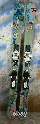 2014 Rossignol Sassy 7 140cm with Marker Squire Binding