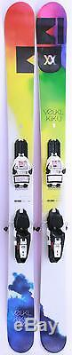 2014 Volkl Kiku Womens Skis w Marker Squire Demo Bindings Used Demo Skis 154cm