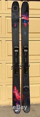2015 Atomic Bent Chetler Skis 192cm & Marker Duke 16 EPF alpine touring bindings