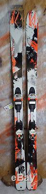 2015 K2 Rictor 90 177cm with Marker 12.0 Binding