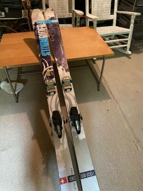 2015 Stockli Stormrider 100 With Marker Jester Bindings- Maintained By Ski Sharp