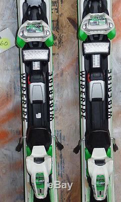 2015 Volkl RTM 84 166cm with Marker Wideride 12.0 Binding