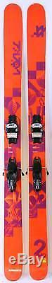 2015 Volkl Two Mens Skis w Marker Griffon Demo Bindings Used Demo Skis 196cm