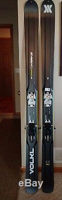 2015 Volkl V-Werks Katana Big Mountain Ski 191 Marker Jester 16 Binding