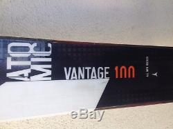 2016-17 Atomic Vantage 100 CTI skis 180CM with Marker Jester bindings