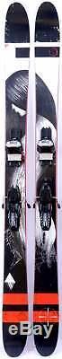 2016 Line Mordecai Mens Skis w Marker Griffon Demo Bindings Used Demo Skis 186cm