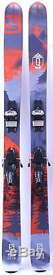 2016 Salomon Q105 Mens Skis w Marker Griffon Demo Bindings Used Demo Skis 174cm