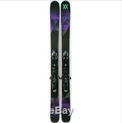 2016 Volkl Aura 163cm Women's Skis with Marker Griffon Bindings USED ONE DAY